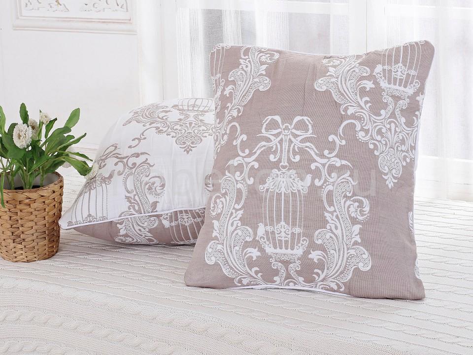 Наволочка для декоративных подушек CLEO CLE_45_001_5-BR от Mebelion.ru
