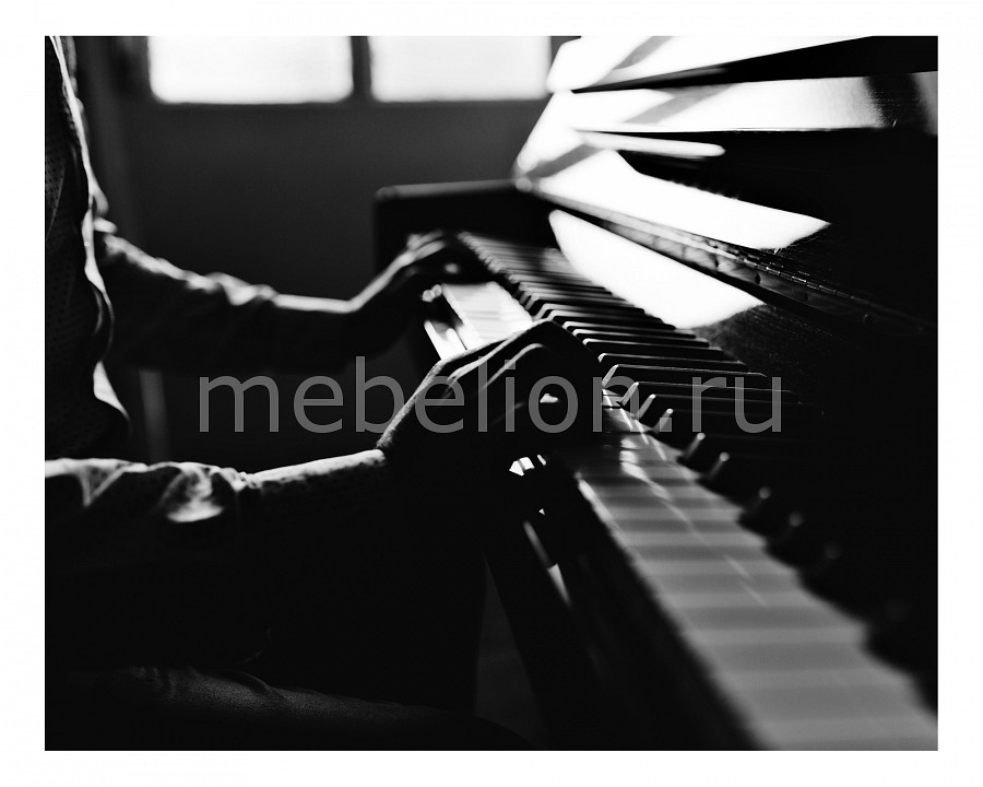 Панно Ekoramka (50х40 см) Пианист 1709056К5040