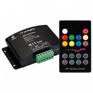 Контроллер-регулятор цвета RGBW с пультом ДУ VT-S16-3x4A (12-24V, ПДУ Карта 18кн, RF)