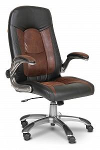 Кресло для руководителя Chairman 439 коричневый, черный/серый, черный