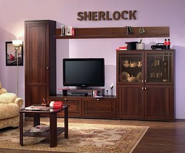 Стенка для гостиной глубиной 40 см Sherlock GLZ_24967