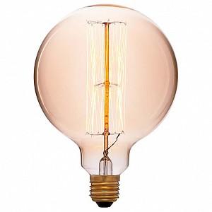 Лампа накаливания G125 E27 240В 60Вт 2200K 054-027