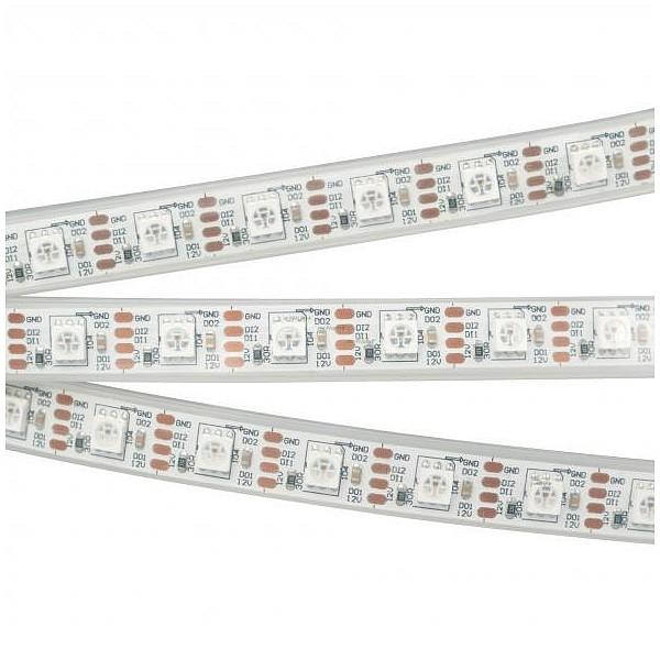 Лента светодиодная [5 м] SPI-5000P-RAM 12V RGB (5060, 60 LED/m, x1, AM) 027615 ARLT_027615