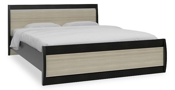 Кровать двуспальная Ксено СТЛ.078.18 дуб феррара/ясень глянец
