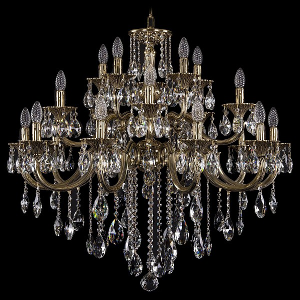 Подвесная люстра 1722/10+5+5/300/B/GB Bohemia Ivele Crystal 1722/10+5+5/335/B/GB  (BI_1722_10_5_5_335_B_GB), Чехия