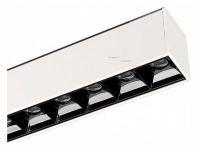 Встраиваемый светильник MAG-LASER-45-L480-18W Warm3000 (WH, 15 deg, 24V) 026943