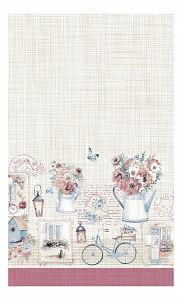 Полотенце для кухни (70x40 см) История открыток