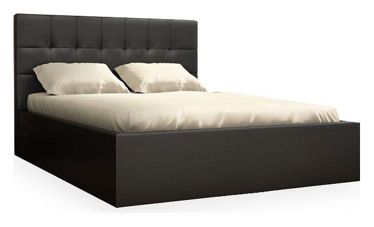 Кровать двуспальная Находка Real black 01