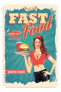 Панно (20x30 см) Fast food TM-113-125