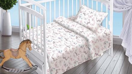 Комплект постельного белья Бабочки DTX_8954-1-439