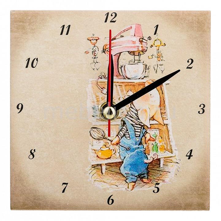 Настольные часы АРТИ-М (10x10 см) Свинки 354-1642
