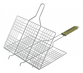 Решетка-гриль (54х33х2.5 см) Boyscout 61313
