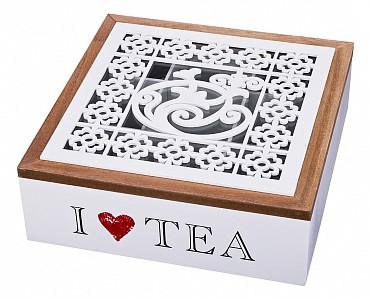 Шкатулка для чая (24x24x8 см) Арт 421-205