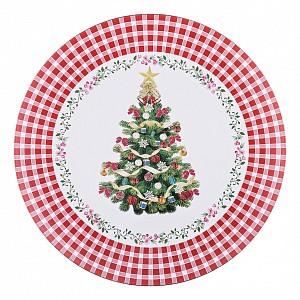 Поднос (40 см) Рождественская Сказка 106-527