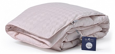Одеяло двуспальное Эдинбург Пудра