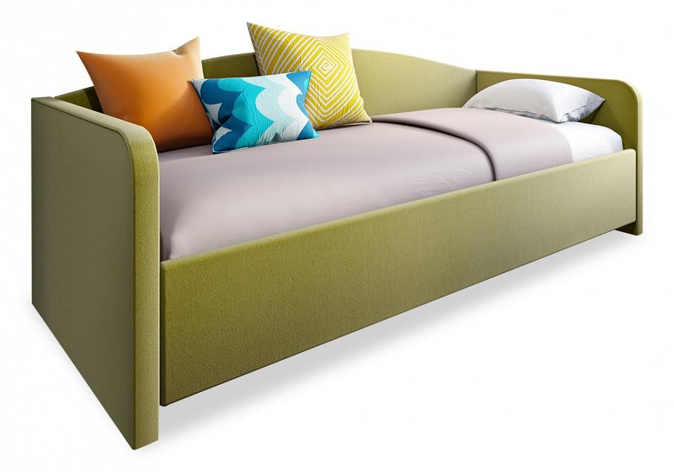 Кровать односпальная с матрасом и подъемным механизмом Uno 90-200