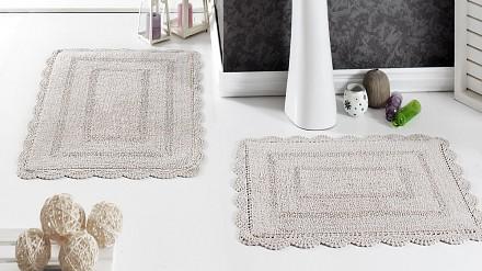 Набор из 2 ковриков для ванной EVORA