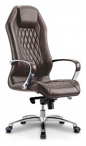 Кресло для руководителя Бюрократ Aura/Brown