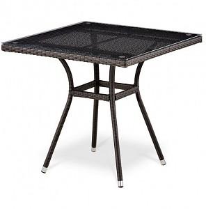 Стол обеденный T283BNT-W2390-80x80 Brown