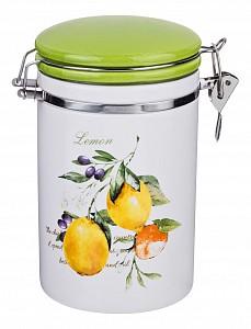 Банка для пищевых продуктов (12х10х17 см) Итальянские лимоны 230-169