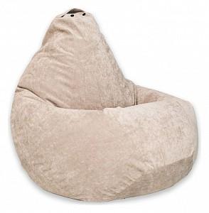 Кресло-мешок Бежевый Микровельвет XL