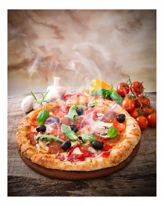 Панно Ekoramka (40х50 см) Пицца 1744086К5040