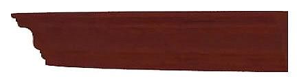 Карнизы для шкафа Александрия ЛД 125.170.000 левый орех