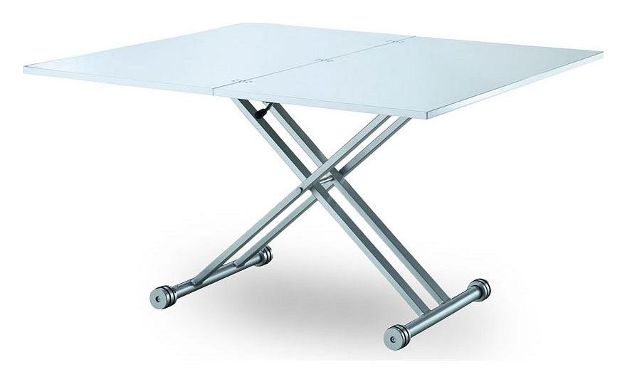 Кухонный стол ESF ESF_B2166_white_gloss от Mebelion.ru