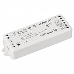 Контроллер-регулятор цвета RGBW SMART-K13-SYNC (12-24V, 4x3A, 2.4G)