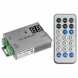 Контроллер-регулятор цвета RGBW с пультом ДУ HX-805 (2048 pix, 5-24V, SD-карта, ПДУ)