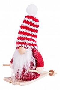 Дед Мороз (9 см) Санта на лыжах 372-031