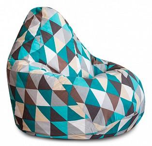 Кресло-мешок Изумруд Жаккард L