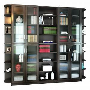 Книжный шкаф для гостиной Милан-101 MAS_MST-BDM-KOMP-101-VE