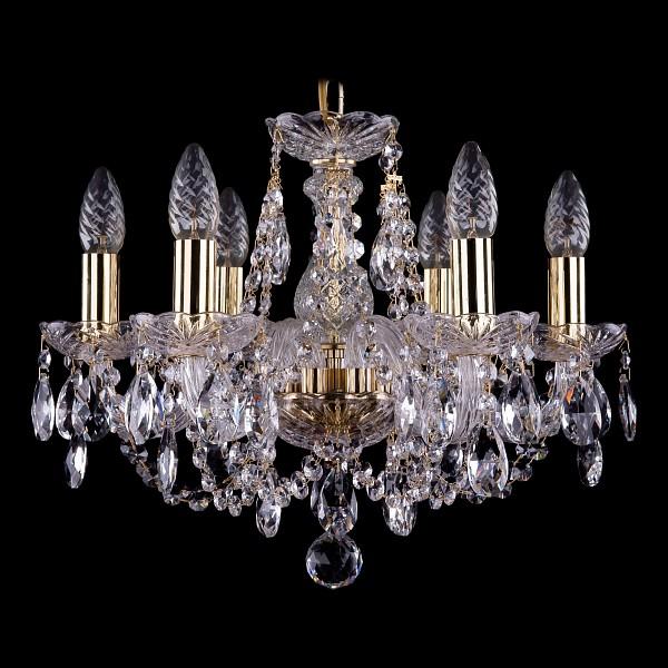 Подвесная люстра 1406/6/141/G Bohemia Ivele Crystal  (BI_1406_6_141_G), Чехия