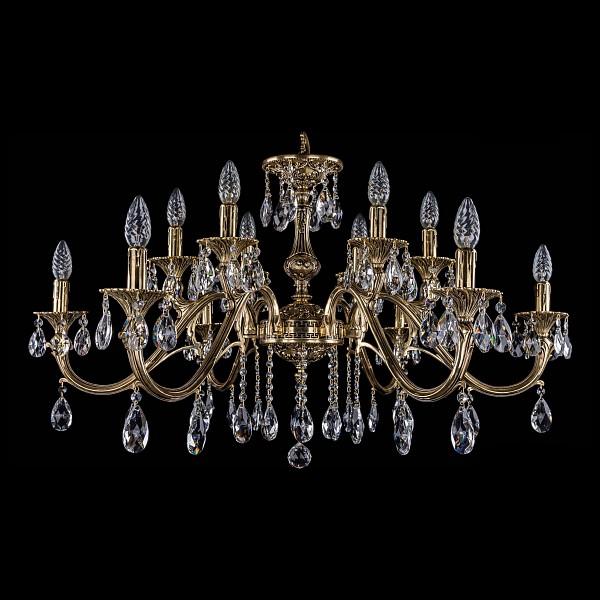 Подвесная люстра 1703/12/360/A/GB Bohemia Ivele Crystal  (BI_1703_12_360_A_GB), Чехия