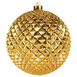 Елочный шар (20 см) рельефный 502-201