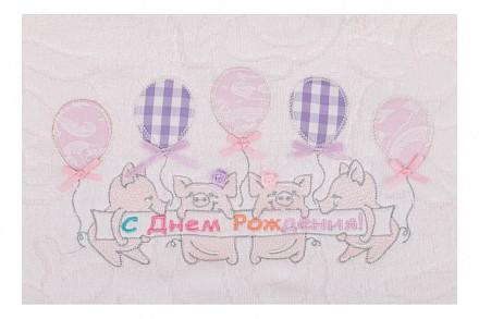 Полотенце детское( 70x140 см) Хрюшки