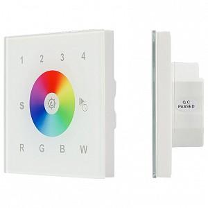 Панель-регулятора цвета RGBW сенсорная встраиваемая Sens SR-2300TR-DT8-G4-IN White (DALI, RGBW)