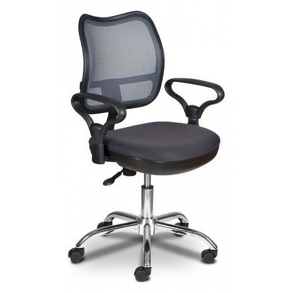Кресло компьютерное Бюрократ CH-799SL/DG/TW-12темно-серый/хром фото