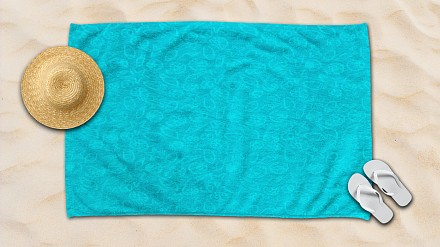 Банное полотенце (100х145 см) Amore Mio Sea