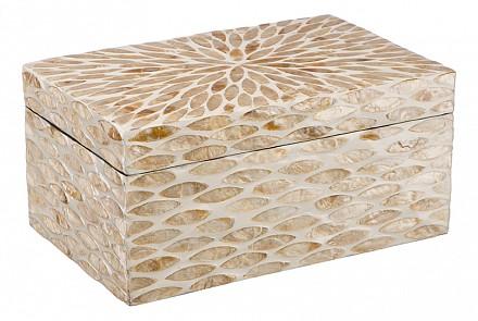 Шкатулка для украшений (25х16х12 см) Золотой песок VP-17
