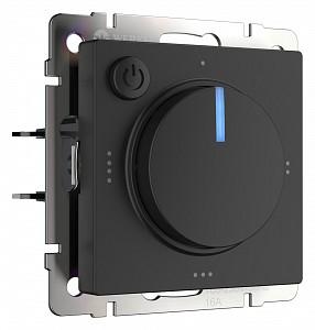 Терморегулятор электромеханический для теплого пола черный W1151108