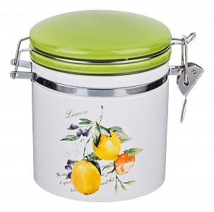 Банка для пищевых продуктов (12.3х10.2х12 см) Итальянские лимоны 230-159