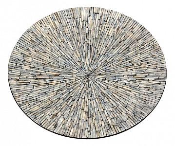 Блюдо декоративное (55х6 см) Серебряная россыпь VP-14
