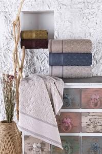 Набор из 6 банных полотенец Volkan