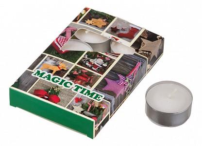 Набор из 6 свечей ароматических (4x2 см) Magic time 348-474