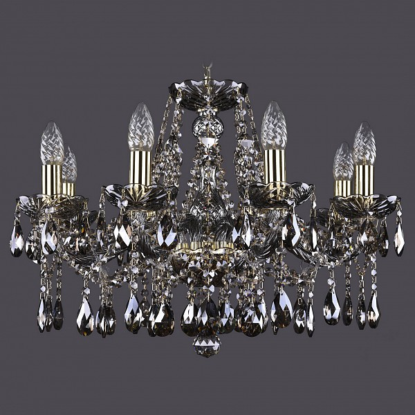 Подвесная люстра 1413/8/200/G/M731 Bohemia Ivele Crystal  (BI_1413_8_200_G_M731), Чехия