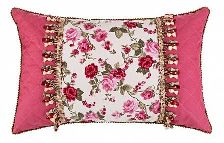 Подушка декоративная (40x60 см) Роза