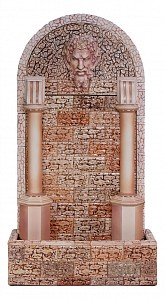 Фонтан пристенный (84х30х150 см) Зевс Ф331