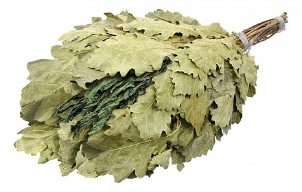 Веник для бани лиственный (50x30 см) С мятой 32020
